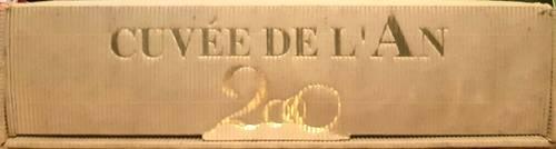 Vends un magnum d'un vin rouge Medoc cuvée de l'an 2000, DULONG 96