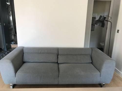 Canapé gris Alinéa-excellent état