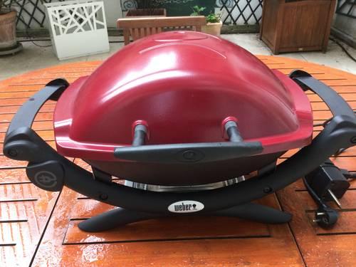 Barbecue weber électrique parfait état