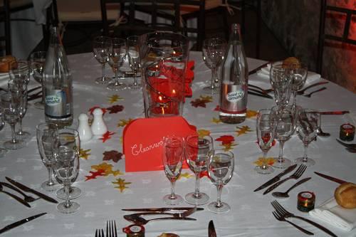 Vends bougeoirs/vases Centre de table