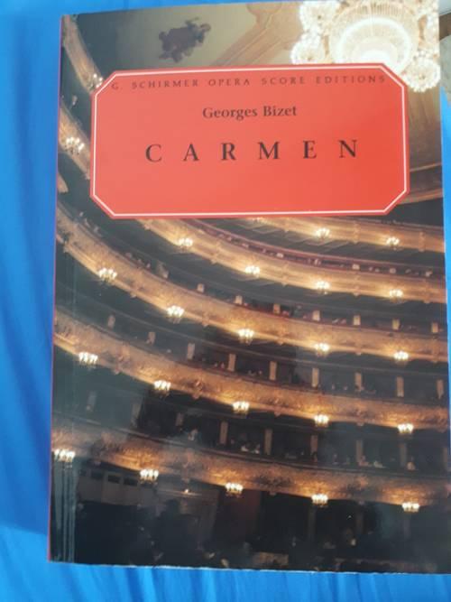 Partition complète opera Carmen - Georges bizet