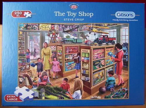 Puzzle Le magasin de jouets - Gibsons (très bon état)