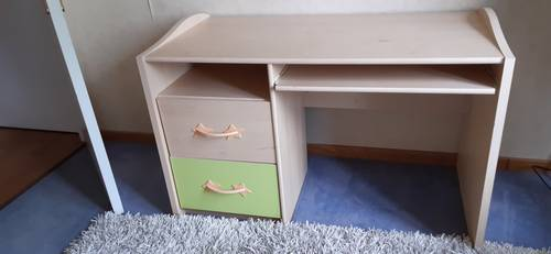 Meuble de bureau enfant 2tiroirs