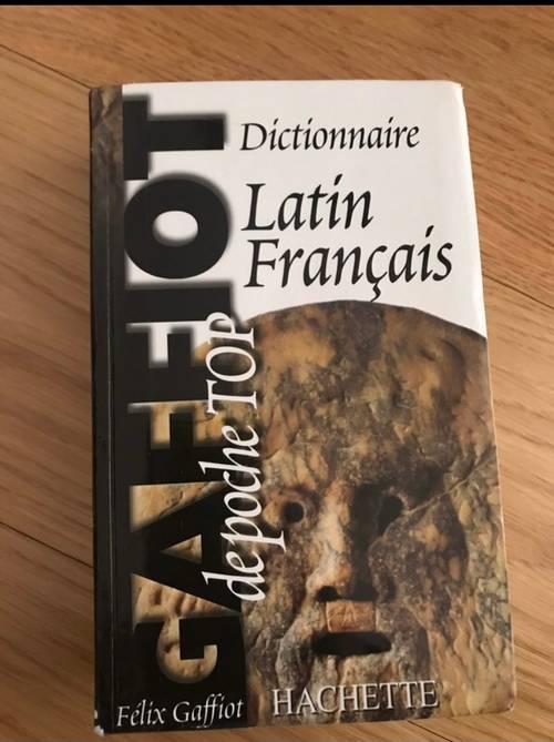 Dictionnaire Latin/Francais