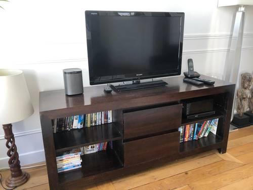 Vends meuble Tv en teck