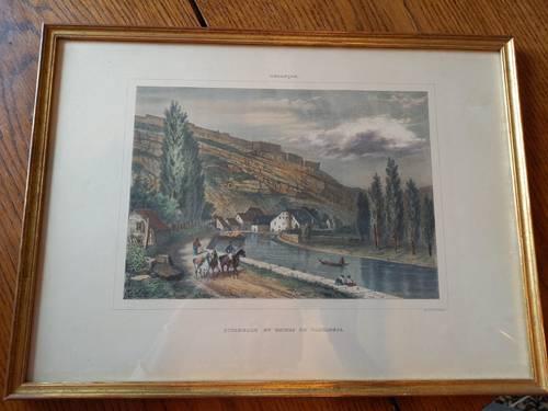 2Gravures anciennes Imprimerie de Besançon