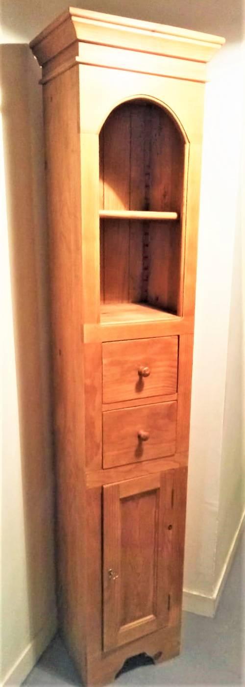 Bibliothèque d'angle en bois Interior's