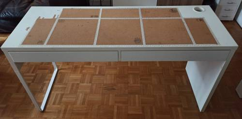Bureau blanc Ikea