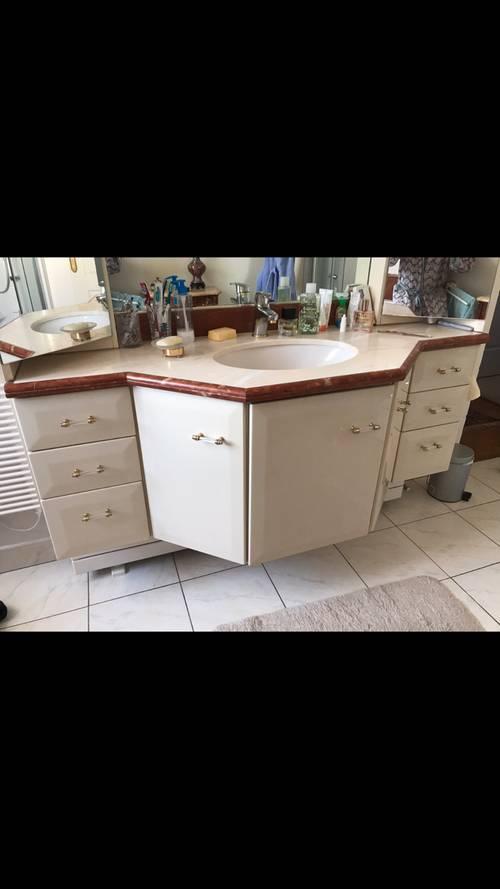Vends meuble de salle de bain