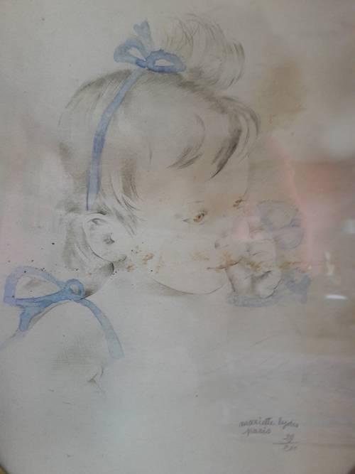 Dessin signé Mariette Lydis
