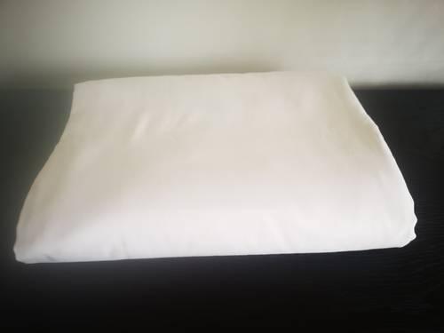 Housse de couette coton blanc