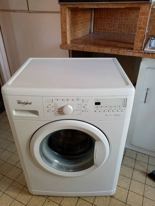 LAVE LINGE WHIRLPOOL A+