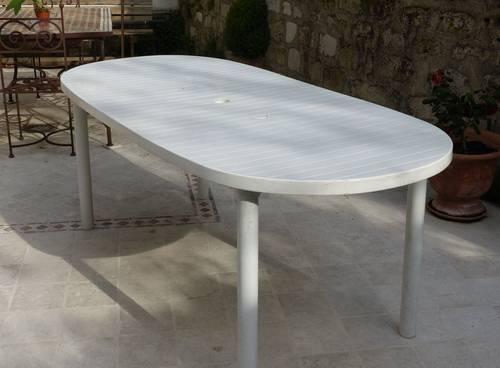 Vends table de jardin