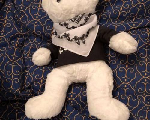 Vends ours en peluche blanc Zadig et voltaire
