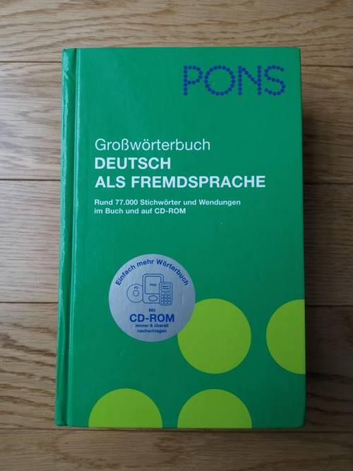 Dictionnaire Bilingue Allemand- Pons
