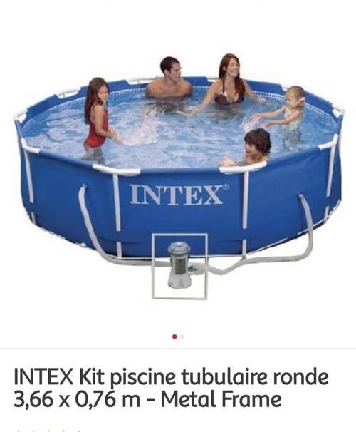 Piscine tubulaire INTEX 3.66m
