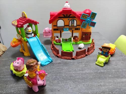 Vends jouets VTech Tut Tut Animos et Ferme