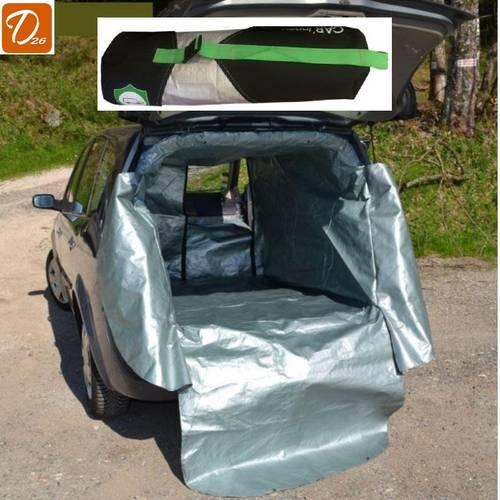 Bâche de protection coffre habitacle siège passager voiture