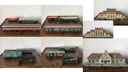 Wagons, rails, maisonnettes et personnages Jouef