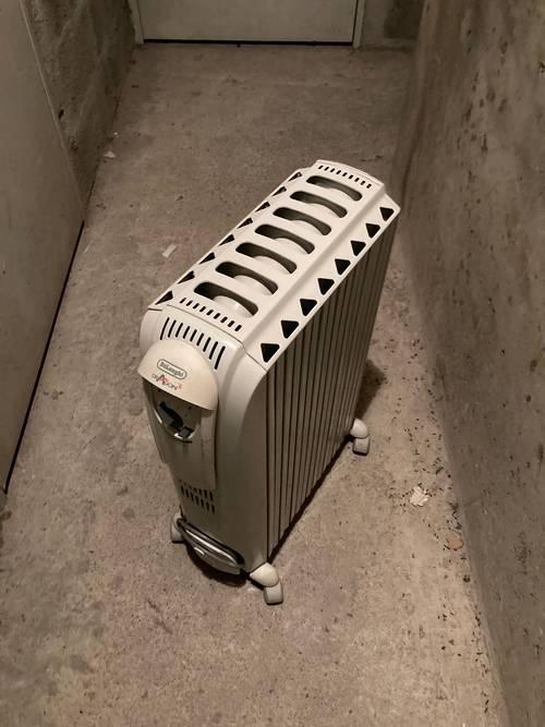 Vends radiateur électrique à bain d'huile