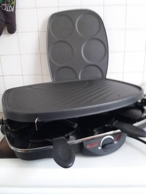 Vends ensemble grill raclette crêpes