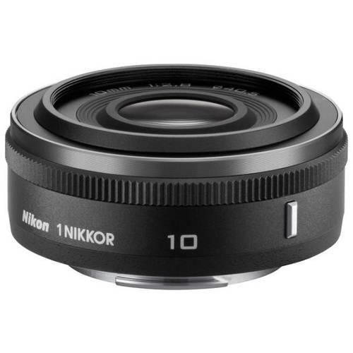 Nikon 1NIKKOR 10mm f/2,8Objectif - Noir pour Nikon 1AW1