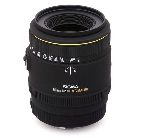 Objectif Sigma Téléobjectif 70mm f / 2.8EX DG Macro autofocus Nikon