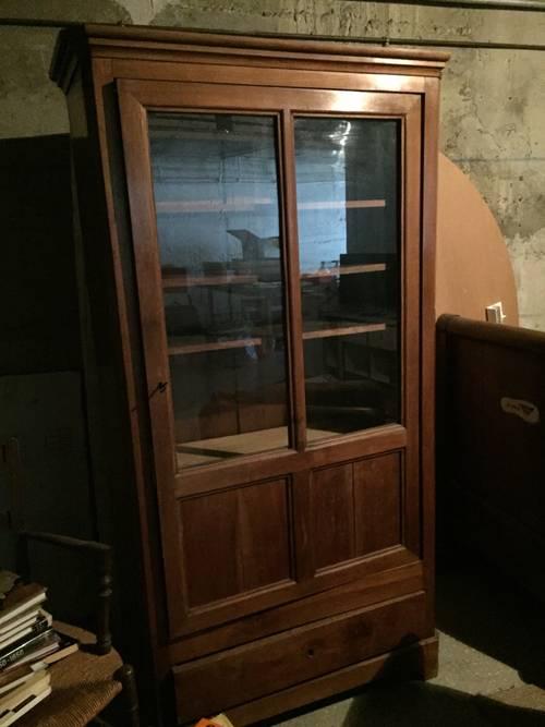 Armoire - vitrine XIXème