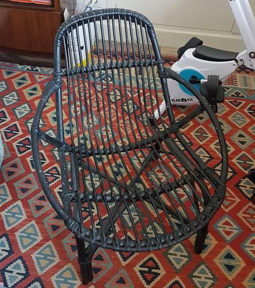 Vends fauteuil rotin