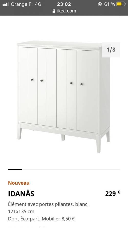 Meuble rangement IKEA neuf