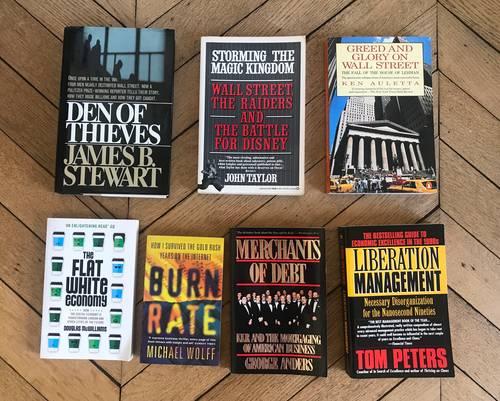 11Books: Business, Politics & History —11livres économie & politique