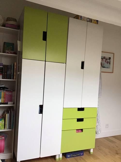 Penderie enfant IKEA