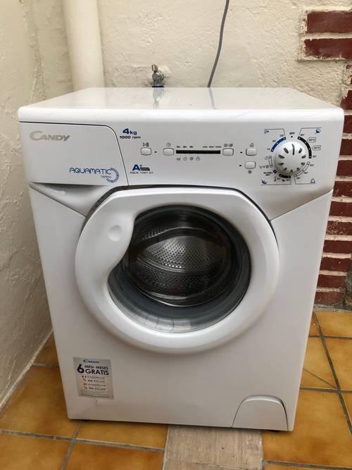 Machine à laver candy 4kg gain de place