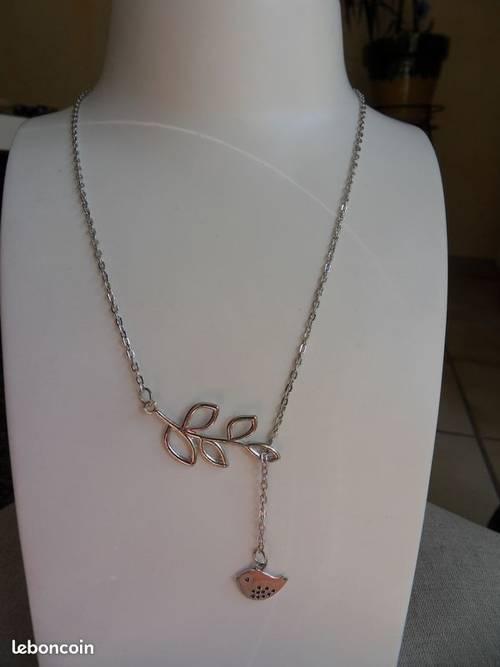 Collier Femme chaîne métal