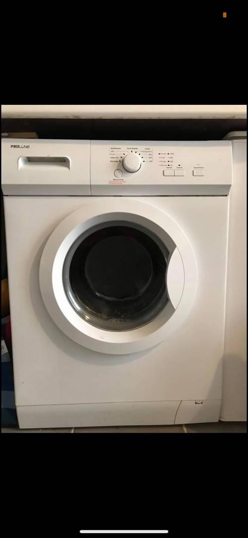 Vends machine à laver Proline très bon état