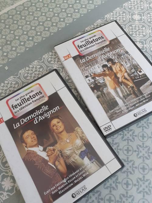 """Vends 2DVD'""""la demoiselle d'Avignon """""""