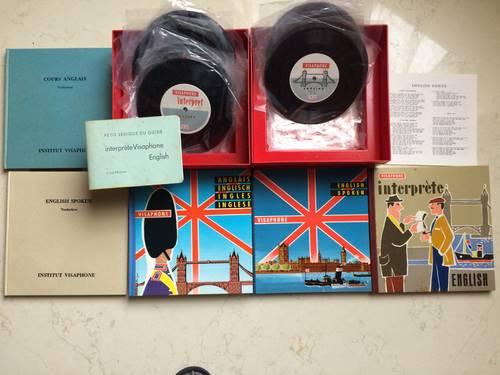 Méthode d'apprentissage anglais vinyl