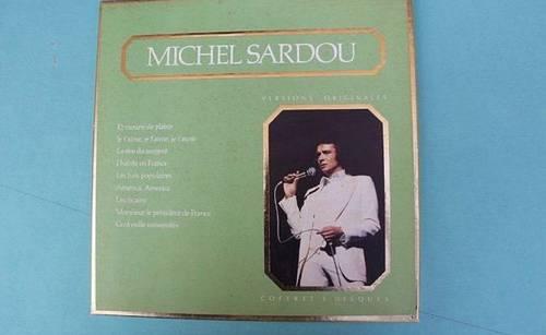 Coffret vinyles Michel Sardou