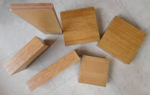 Elément en bois de chêne