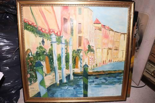 Vends Tableau - Venise