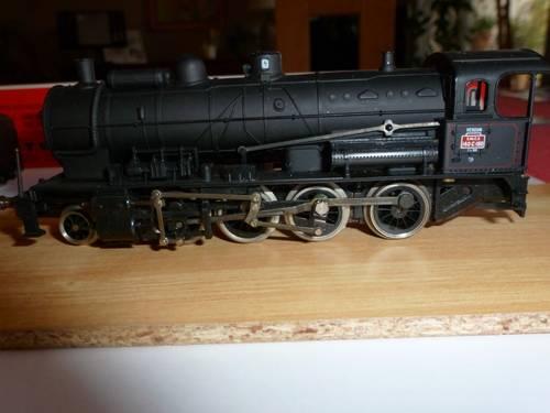 Locomotive vapeur Jouef 140C HO