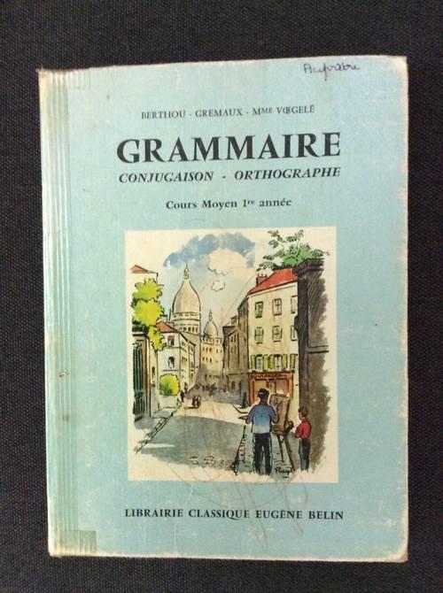 Vends livre grammaire conjugaison orthographe cm1