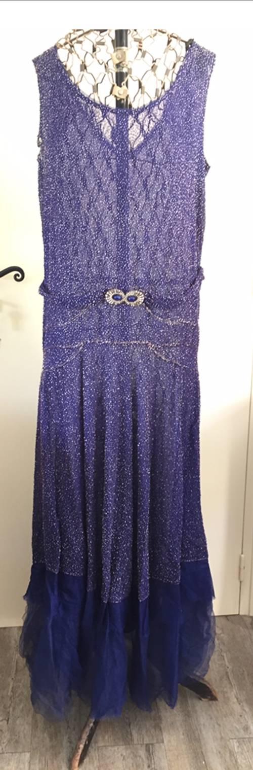 Vends robe époque 1920/ 1930