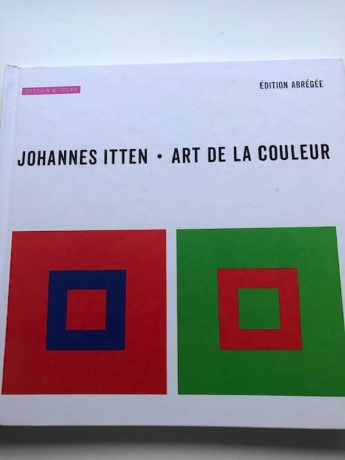 Livre Art de la couleur Johannes ITTEN