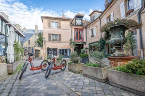 Propose promenade à Versailles en Trottinette électrique tout terrain