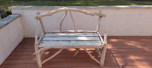 Vends canapé en bois flotté