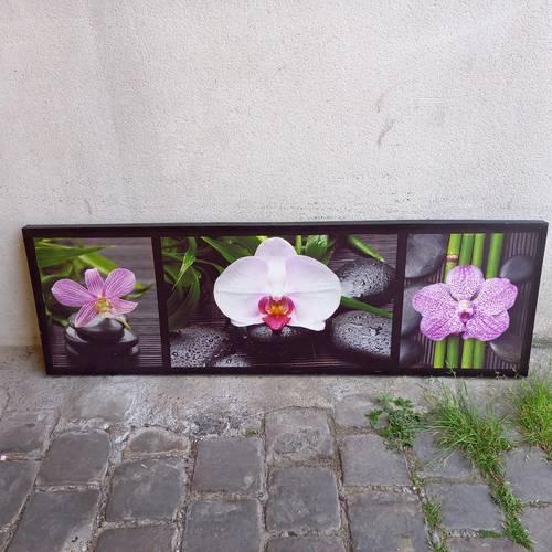 Tableau decoratif orchidées
