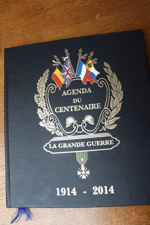 Vends Agenda du Centenaire (2014)