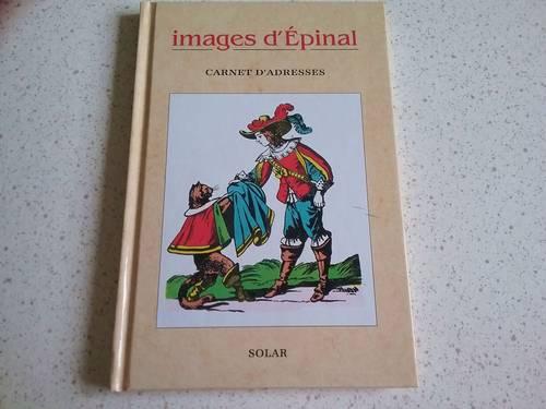 Vends carnet d'adresses neuf images d'Epinal