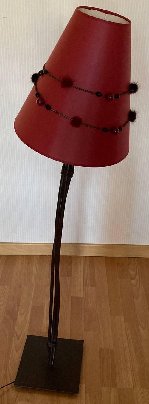 Vends lampadaire fer forgé